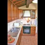 Ferienhaus Toskana TOH320 - Küche mit Ofen