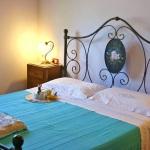 Ferienhaus Toskana TOH320 - Schlafraum mit Doppelbett