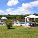 Ferienhaus Toskana TOH325 - Sitzgelegenheiten am Pool