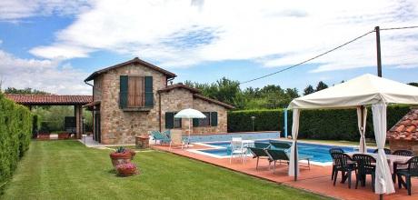 Toskana Ferienhaus Castiglione del Lago 330 mit Pool am Lago Trasimeno, Wohnfläche 120qm. Wechseltag Samstag, Nebensaison flexibel auf Anfrage.