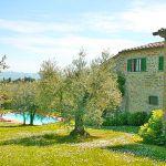 Ferienhaus Toskana TOH345 Garten mit Pool