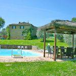 Ferienhaus Toskana TOH345 Gartenmöbel am Pool