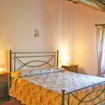 Ferienhaus Toskana TOH345 Schlafraum mit Doppelbett