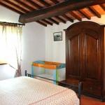 Ferienhaus Toskana TOH345 - Schlafzimmer mit Doppelbett