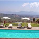 Ferienhaus Toskana TOH350 - Sonnenliegen am Pool