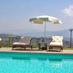 Ferienhaus Toskana TOH350 - Swimmingpool mit Ausblick