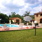Ferienhaus Toskana TOH360 - Poolbereich