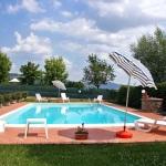 Ferienhaus Toskana TOH360 - Poolterrasse