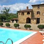 Ferienhaus Toskana TOH360 - Sonnenliegen am Pool