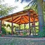 Ferienhaus Toskana TOH365 - überdachte Terrasse