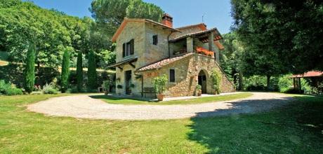 Ferienhaus Toskana Castiglion Fiorentino 365 mit Pool und herrlichem Ausblick, Wohnfläche 290qm. Wechseltag Samstag, Nebensaison flexibel auf Anfrage.