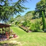 Ferienhaus Toskana TOH365 - Garten mit Pavillon