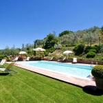 Ferienhaus Toskana TOH365 - Garten mit Pool