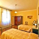 Ferienhaus Toskana TOH365 - Schlafraum mit zwei Betten