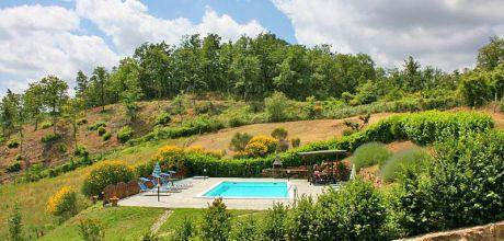 Ferienhaus Toskana mit Pool Talla 375 mit Pool und Ausblick, Wohnfläche 140qm. Wechseltag Samstag, Nebensaison flexibel auf Anfrage.