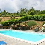 Ferienhaus Toskana TOH375 Liegen am Pool