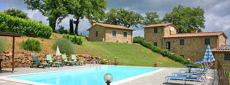 Ferienhaus Toskana TOH375 Poolbereich
