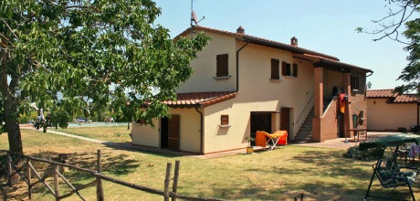Landhaus Toskana Marciano della Chiana 405 mit Pool und Ausblick, Wohnfläche 160qm. Wechseltag Samstag, Nebensaison flexibel auf Anfrage.