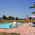 Ferienhaus Toskana TOH405 - Pool mit Liegestühlen
