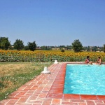Ferienhaus Toskana TOH405 - Poolbereich