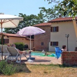Ferienhaus Toskana TOH405 - Poolterrasse