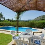 Finca Mallorca MA2016 - überdachte Terrasse