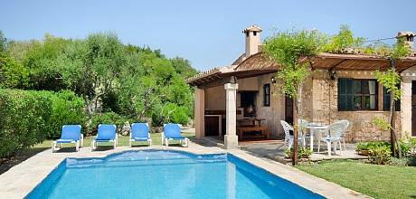 Mallorca Nordküste – Ferienhaus Pollensa 2016 mit Pool, Grundstück 4.000qm, Wohnfläche 95qm. Wechseltag Samstag, Nebensaison flexibel auf Anfrage – Mindestmietzeit 1 Woche