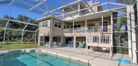 Florida Villa Manasota Beach 41844 mit Pool und Internet in Strandnähe. Wechseltag flexibel