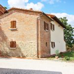 Toskana Ferienhaus TOH405 Seitenansicht