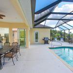 Villa Florida FVE42031 überdachte Terrasse mit Esstisch