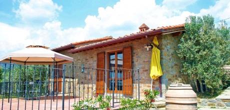 Toskana Ferienhaus TOH100 mit Pool und Whirlpool für 2 Personen, Wohnfläche 38qm. Wechseltag Samstag, Nebensaison flexibel