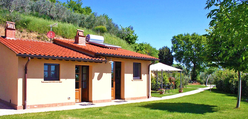 Toskana Ferienhaus TOH102 - Weg zum Haus