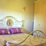 Ferienhaus Toskana TOH102 - Schlafzimmer mit Doppelbett