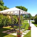 Ferienhaus Toskana TOH102 - Sitzgelegenheiten im Garten