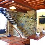 Ferienhaus Toskana TOH105 - Wohnbereich