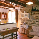 Ferienhaus Toskana TOH105 - Wohnraum mit Sofa