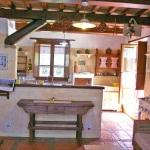 Ferienhaus Toskana TOH105 - Wohnzimmer mit Sofa