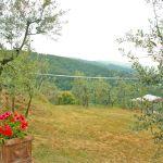 Ferienhaus Toskana TOH110 Garten mit Volleyballnetz