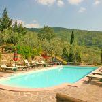 Ferienhaus Toskana TOH110 Sonnenliegen am Pool