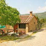 Ferienhaus Toskana TOH110 Zufahrt zum Haus
