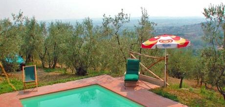 Ferienhaus Toskana Cortona 130 mit Pool für 5 Personen, Wohnfläche 70qm. Wechseltag Samstag, Nebensaison flexibel