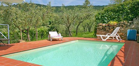 Ferienhaus Toskana Cortona 130 mit Pool für 5 Personen, Wohnfläche 70qm. Wechseltag Samstag, Nebensaison flexibel.