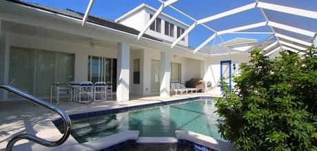 Florida Ferienhaus Cape Coral 45307 mit Pool, Whirlpool und Bootsanleger. Wechseltag flexibel.