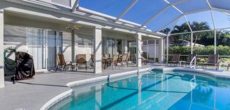 Deluxe Ferienhaus Fort Myers 4309 mit Pool und Internet für 8 Personen mieten. Wechseltag flexibel.
