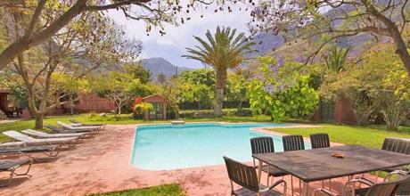 Gran Canaria Ferienhaus Agaete 4012 mit grossem Pool für 8 Personen. Wechseltag flexibel – Mindestmietzeit 1 Woche.