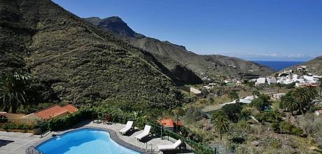 Gran Canaria Ferienhaus Agaete 5003 für 10 Personen mit Pool mieten. Wechseltag flexibel – Mindestmietzeit 1 Woche.
