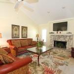 Ferienhaus Florida FMI3657 Wohnzimmer mit offenem Kamin
