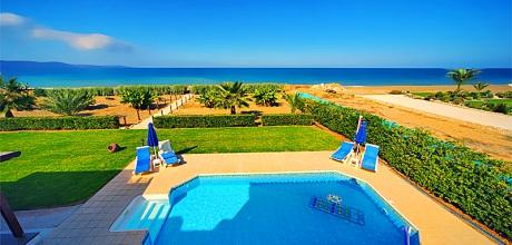 Strandvilla Zypern Argaka 4382 mit Pool direkt am Meer für 8 Personen. Wechseltag flexibel