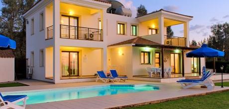 Ferienhaus Zypern Argaka 4382 mit Pool direkt am Meer für 8 Personen. Wechseltag flexibel