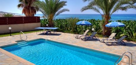 Ferienhaus Zypern Kissonerga 347561 mit Pool direkt am Meer mieten. Wechseltag flexibel